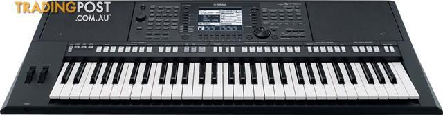 Yamaha PSR-S750 61 Note Keyboard Arranger Workstation Ex-Demo