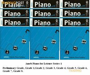 1. AMEB Piano for Leisure - Grade Books - Series 1