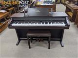 Yamaha Clavinova Digital Piano CLP511 Dark Rosewood (1996)