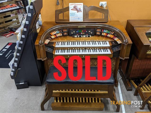 Gulbransen Rialto II Organ 6018Y ~ Sold