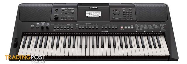 Yamaha E-Series PSR E463 Regular Series Yamaha PSRE463 Keyboard