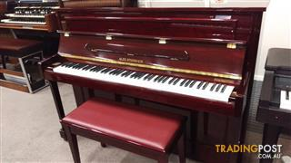Alex Steinbach  Mahogany Polished Upright Piano Windsor  ~  (JS112)