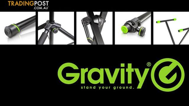Gravity Double Brace Keyboard Stand