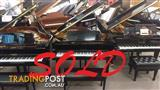 Yamaha G2 F PE ~ SOLD ~ (1993) 173cm Grand Piano Polished Ebony Ser No #5100989 ~ Made in Japan