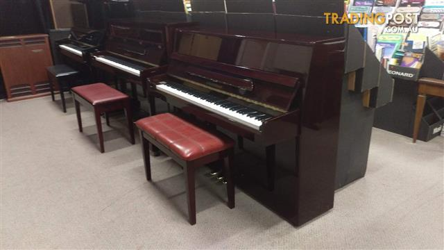 Alex Steinbach Student 108cm Upright Piano in Mahogany Polished