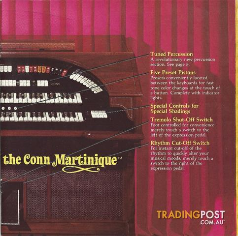 Conn 644 Martinique Theater Organ