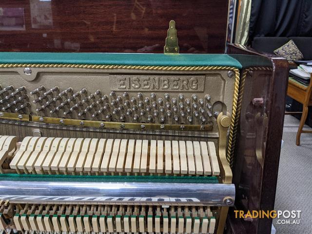 Eisenberg 105cm Upright Piano finished in Mahogany Polished