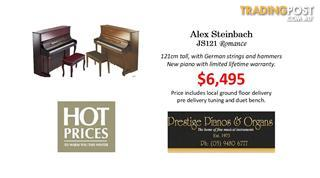 Alex Steinbach  Upright Piano Romance  ~ Contemporay (JS121MD)