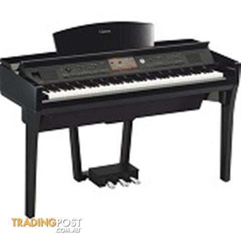 Yamaha Clavinova CVP709PE Polished Ebony Digital Piano
