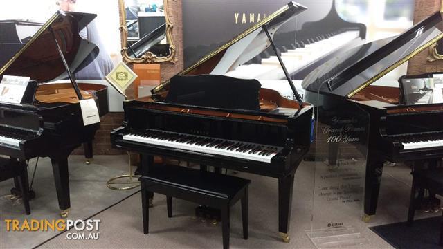 Yamaha GC1 PE (2007) 161cm Grand Piano Polished Ebony Ser No #6203953~ Made in Japan