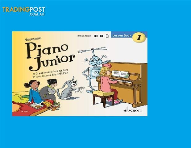 Piano Junior - Lesson Book 1