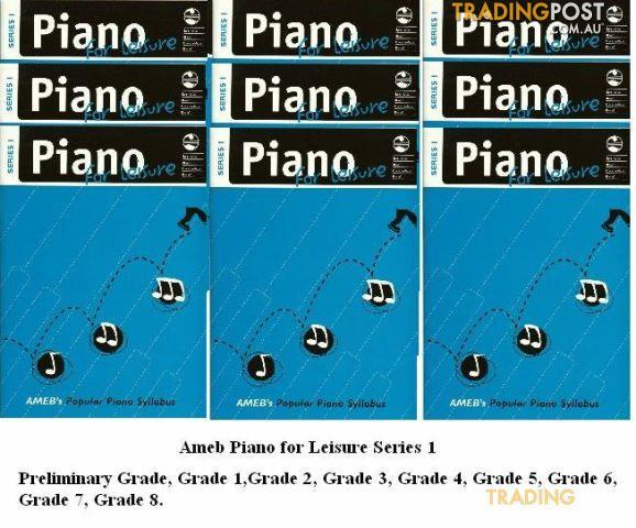 AMEB Piano For Leisure Gr. 2 Series 1