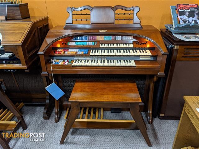 Wurlitzer Theatre Spinet Organ Model 630T ~ Sold
