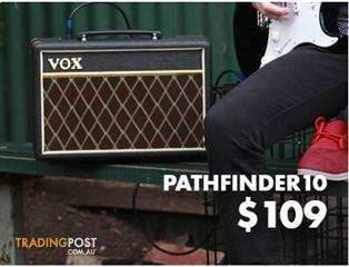 Vox Pathfinder 10 Amplifier Combo - Black