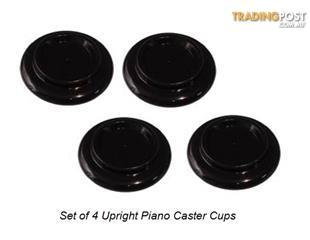 Piano Castor Cups