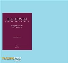 Beethoven - Complete Sonatas for Pianoforte in 3 volumes