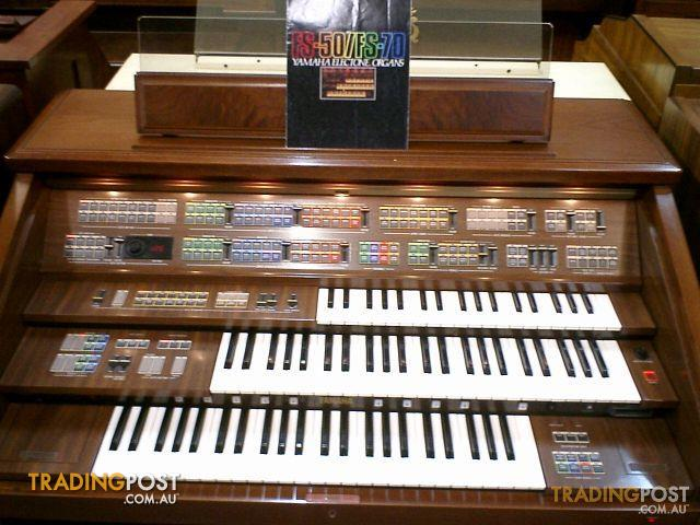 Yamaha Electone Organ Fs70 Now Sold For Sale In Preston