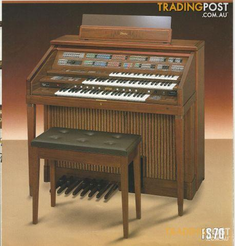 YAMAHA Electone Organ FS70 NOW SOLD for sale in Preston ...