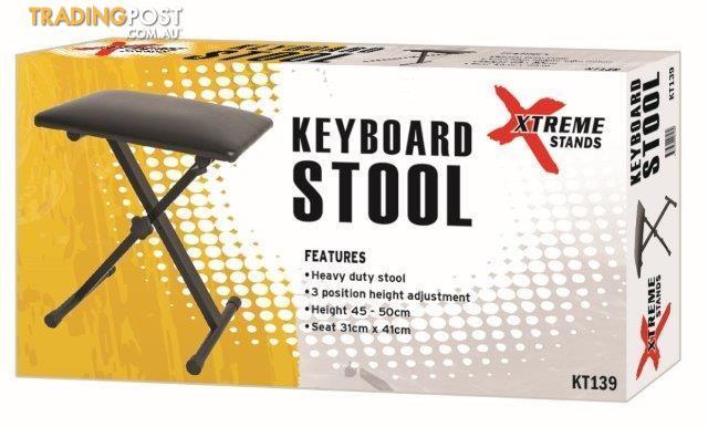 XTREME KT139 Single Braced Keyboard Stool (AMS)