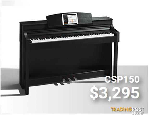 Yamaha Clavinova Digital Piano CSP 150 - Black