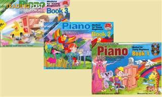 PROGRESSIVE PIANO YOUNG BEGINNERS BK 1 to BK 3 BK/CD/DV (Individual Purchase)