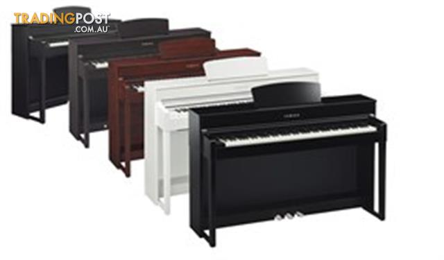 clp545 yamaha clavinova digital piano for sale in. Black Bedroom Furniture Sets. Home Design Ideas