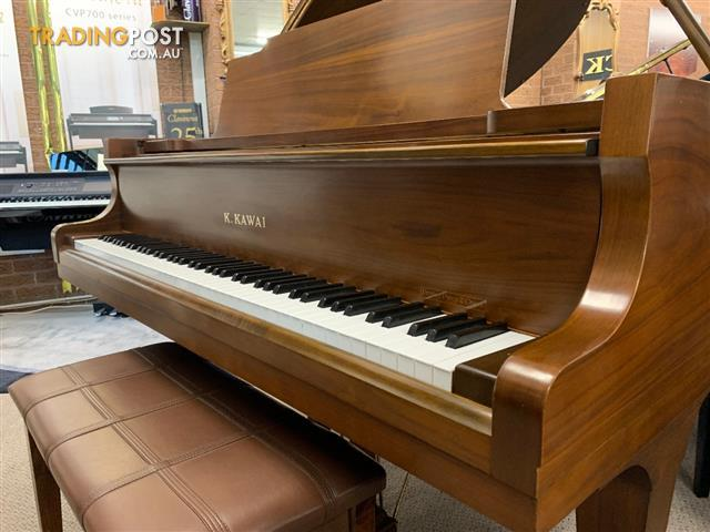 Kawai 178cm Grand Piano KG 2C Rich Walnut Satin Finish