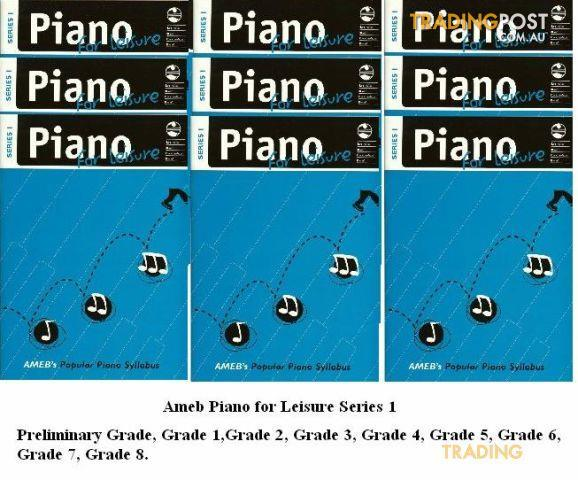 AMEB Piano For Leisure Gr. 6 Series 1