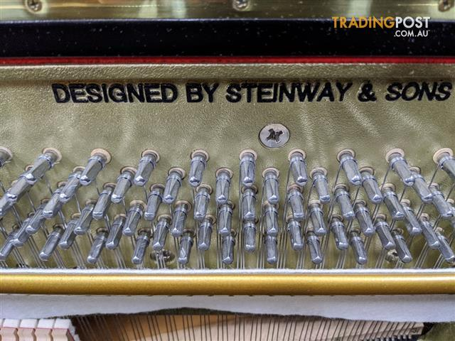 Boston Upright Piano designed by Steinway & Sons UP-118E