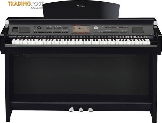 Yamaha Clavinova CVP705PE Polished Ebony Digital Piano