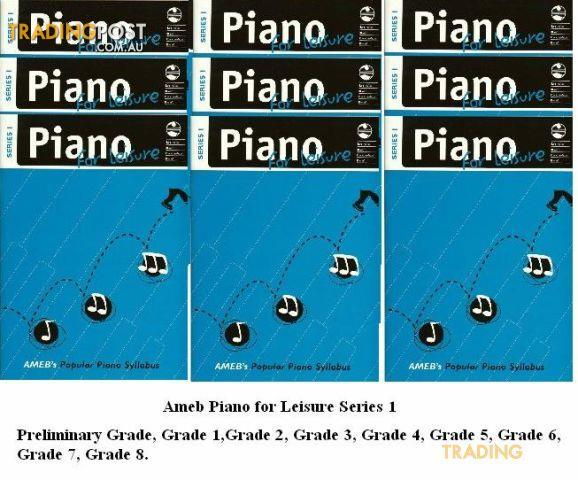 AMEB Piano For Leisure Gr. 4 Series 1