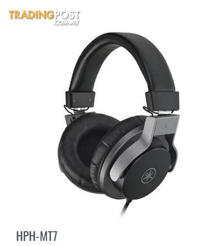 5. Yamaha HPH-MT7  Studio Monitor Headphones