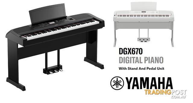Yamaha Digital Piano DGX670