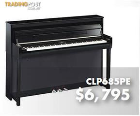 Yamaha Clavinova Digital Piano CLP685 -  Polished Ebony