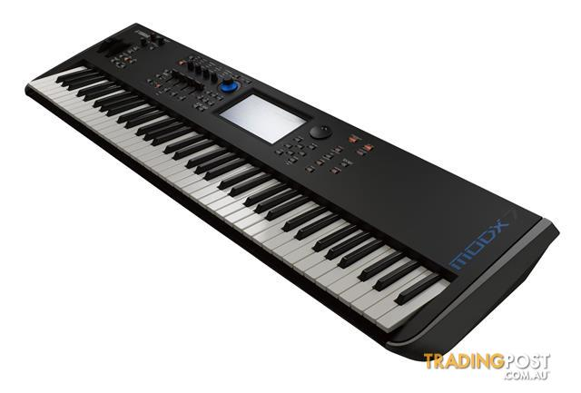 Yamaha Synthesizers MODX7 76-key semi-weighted