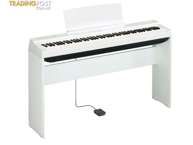 Yamaha P Series P-125WH White Portable Digital Piano
