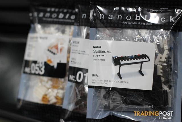 Nanoblock Musical Instruments