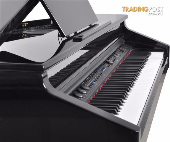 Artesia AG28 Polished Ebony Digital Grand Piano with Bench