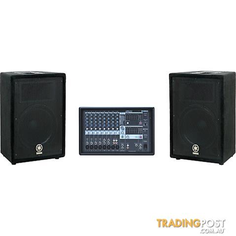 Yamaha Portable PA Pack: EMX212S + 2 x A12s