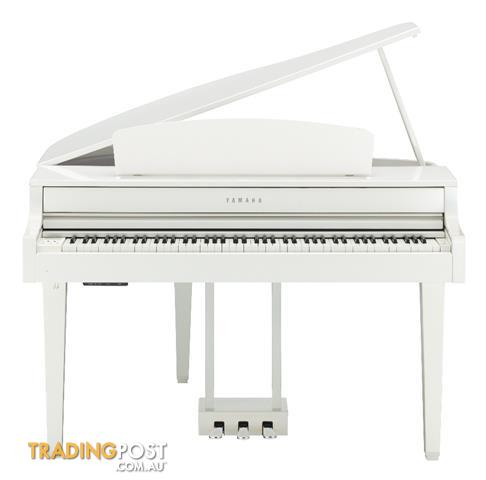 Yamaha Clavinova Digital Piano CLP665GP - Polished White