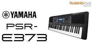 Yamaha E-Series PSR E373 Regular Series Yamaha PSRE373 Keyboard Includes Bonus Headphones