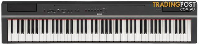 Yamaha P Series P125 Portable Digital Piano ~ Compact and stylish piano