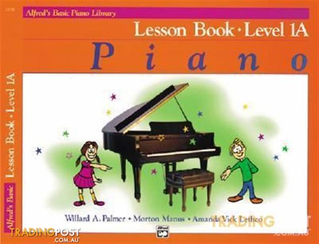 Alfred's Basic Piano Course Books