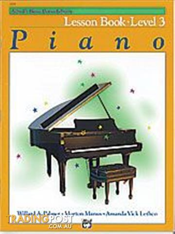 Alfred's Basic Piano Course Books From $18