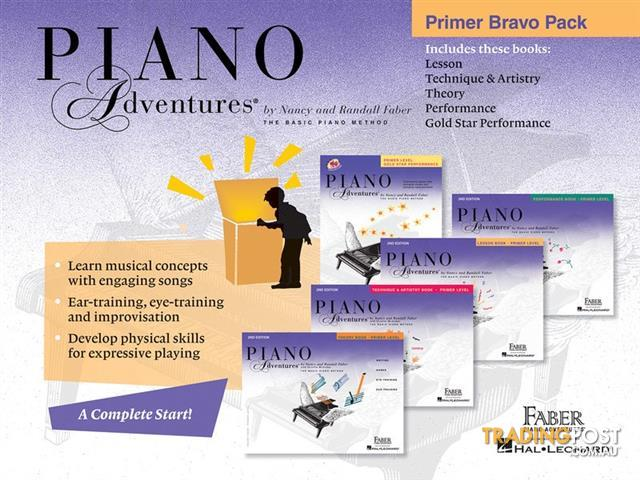 Piano Adventures Primer Bravo Pack