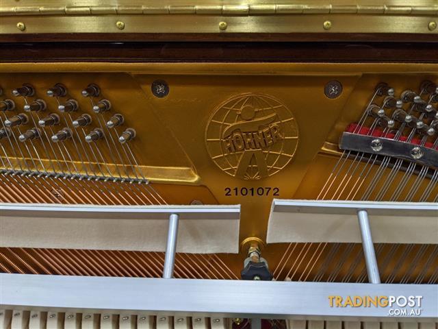 Hohner Upright Piano HP 120 Polished Walnut