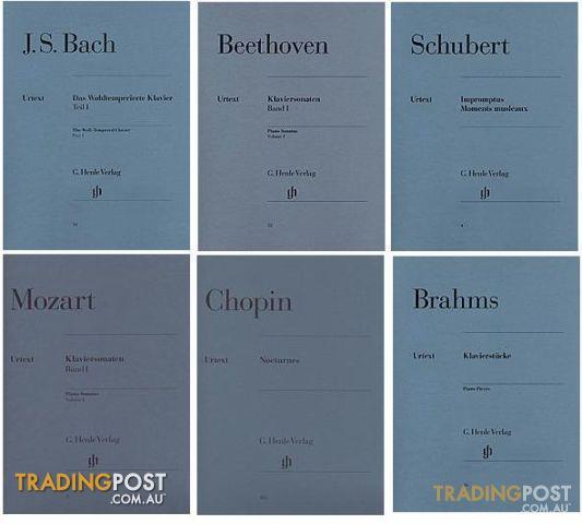 Urtext edition Classical Music