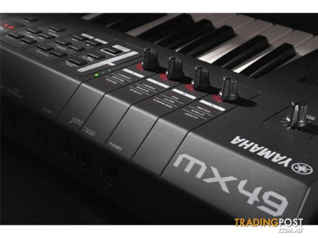Yamaha MX Synthesizers MX49_BK