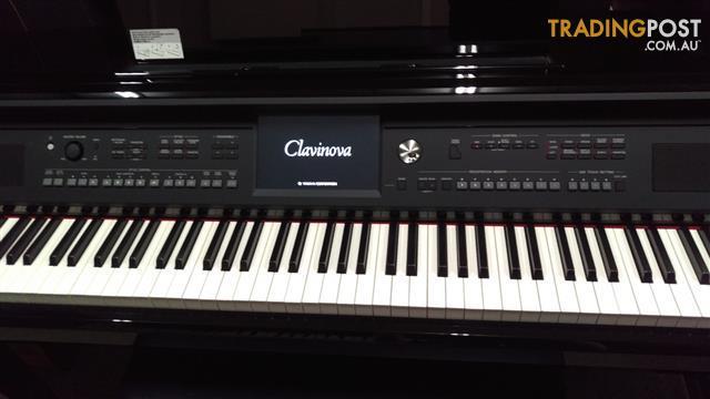 Yamaha Clavinova CVP609PE Digital Piano Polished Ebony Second hand
