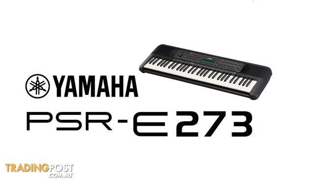 Yamaha E-Series PSR E273 Regular Series Yamaha PSRE273 Keyboard - Includes Bonus Headphones